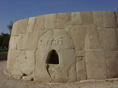 The Great Tomb at Hili (photograph by Dr Mark Beech)