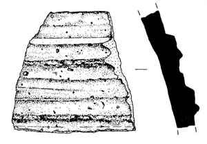Type C body sherd from Ra's Bilyaryar
