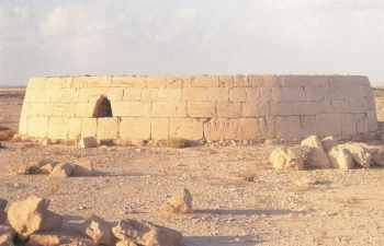 Umm an-Nar tomb after reconstruction (Photograph by Peter Hellyer)
